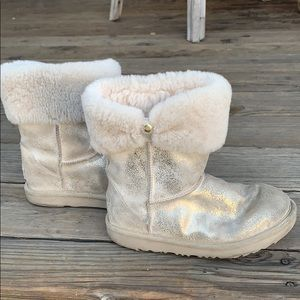 Kids UGG sparkly boots